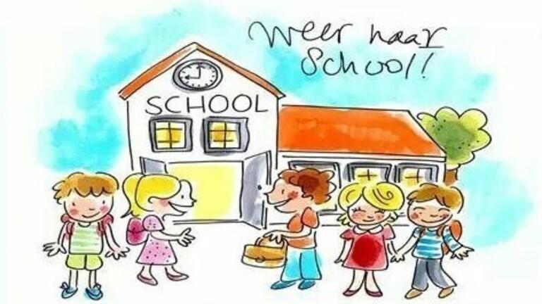 Afbeeldingsresultaat voor scholen weer open